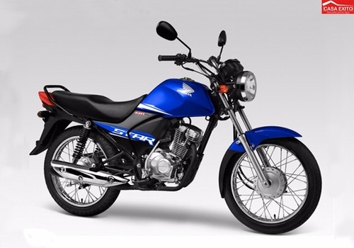 moto honda cb1 star 2019 colores azul, negro, rojo