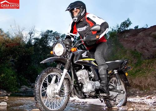 moto honda cb1 x año 2017 color negro, rojo