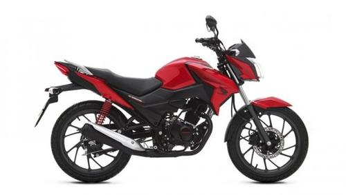 moto honda cb125f twister año 2020 rojo negro