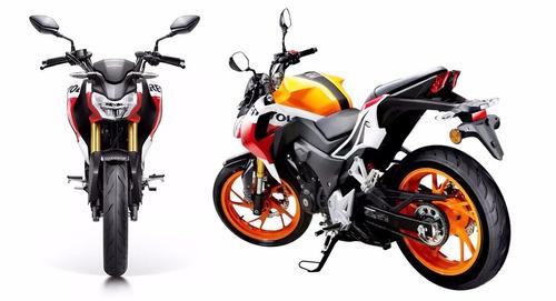 moto honda cb190r 190cc año 2020 azul, negro, rojo