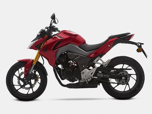 moto honda cb190r  año 2016 azul, negro, rojo