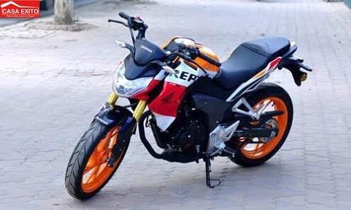 moto honda cb190r año 2017 modelo repsol