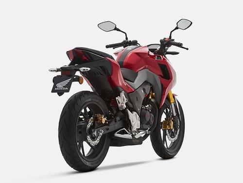 moto honda cb190r año 2017 negro, rojo