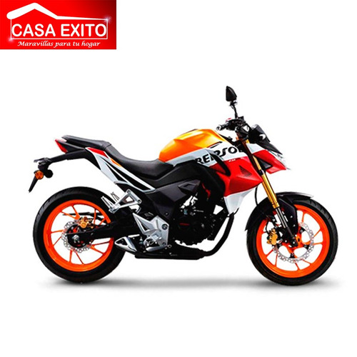 moto honda cb190r año 2019 modelo repsol