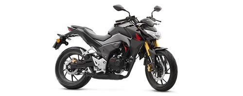 moto honda cb190r año 2019 negro, rojo