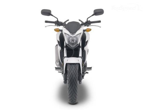 moto honda cb500f año 2016 color blanco / negro