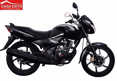 moto honda cbf150 invicta año 2016 color azul negro rojo