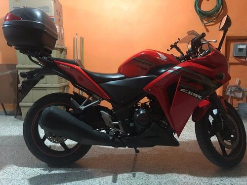 moto honda cbr 250r 2017 roja
