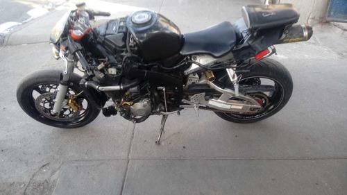 moto honda cbr 600 rr 2003 negra
