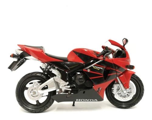 moto honda cbr 600r rojo scala 1.12 new ray - 42603