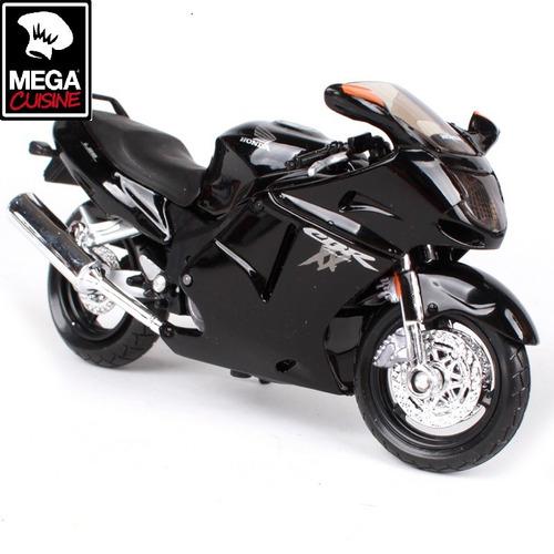 moto honda cbr xx1100 coleccion esc1:12 metalica plastica