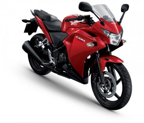 moto honda cbr250r año 2018 color negro, rojo