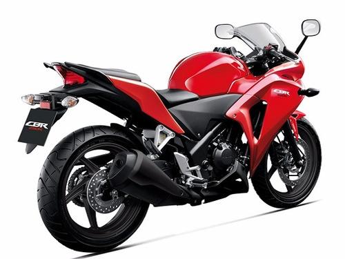 moto honda cbr250r año 2019 color negro, rojo