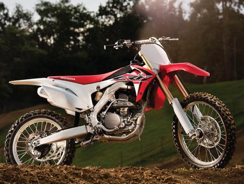 moto honda crf 250r año 2016 / color rojo