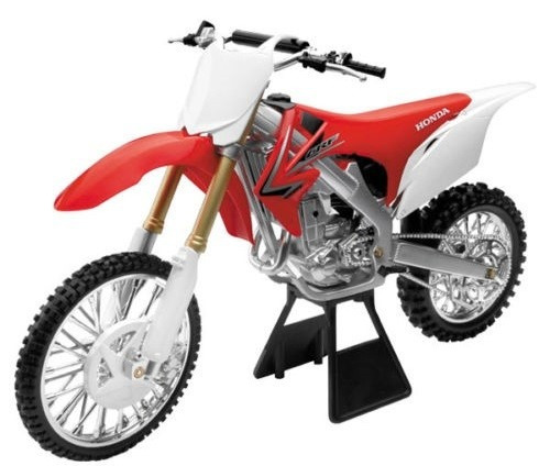moto honda crf 450 r escala 1:6 new ray