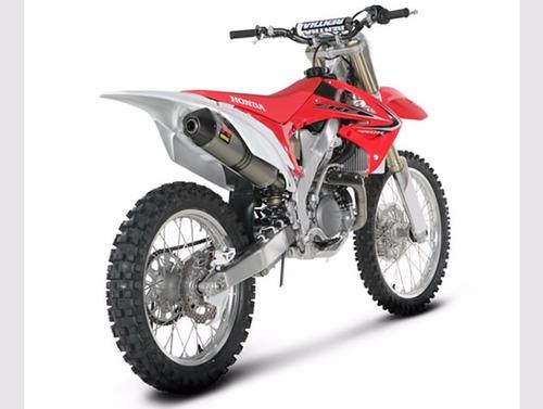 moto honda crf 450r año 2016 color rojo
