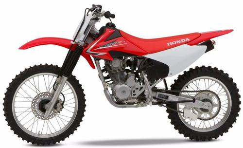 moto honda crf230f año 2016 color rojo