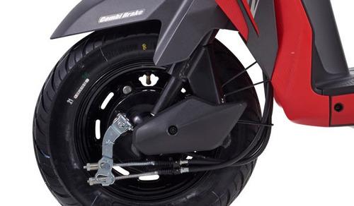 moto honda dio110 110cc año 2018 color negro-rojo