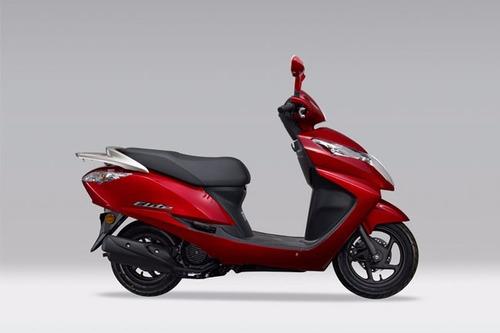 moto honda elite año 2016 colores azul, blanco, rojo