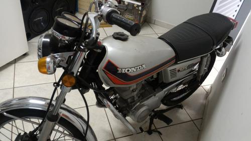 moto honda ml 125 prata 1980