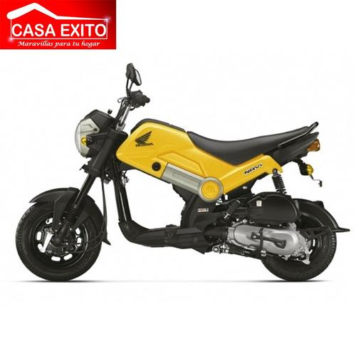 moto honda navi 110cc año 2017 color ne/ro/ama/az