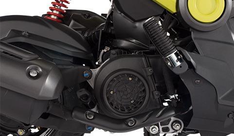 moto honda navi 110cc negra única con garantia de 48 meses