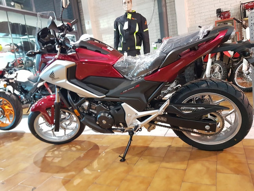 moto honda nc 750 x roja 2019 0km