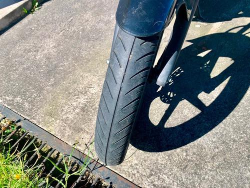 moto honda negra, cb unicorn 150cc, 2014 excelente estado