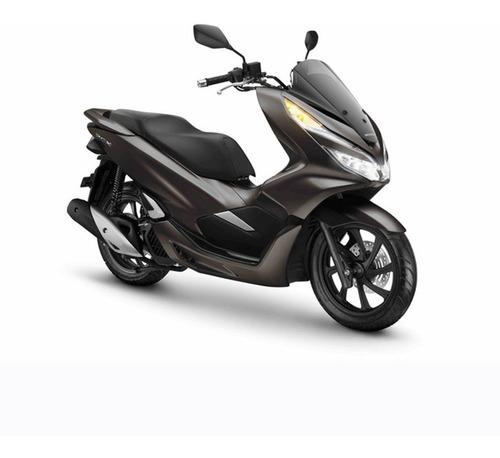 moto honda pcx 150 dlx 0km 2020 azul