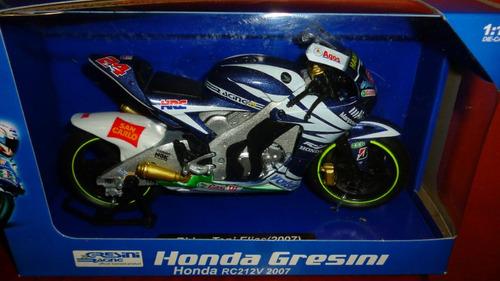 moto  honda rc212v 2007 escala 1/12