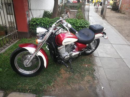 moto honda shadow 750cc impecable
