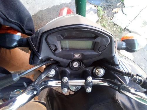 moto honda titán cg150 2016 - sin tablero - un caño