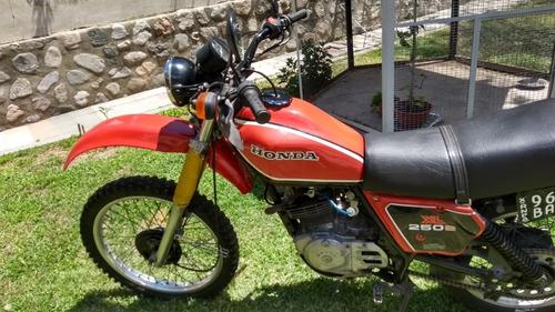 moto honda xl 250 s mod 81