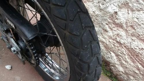 moto honda xlx 350 r, branca(troco) loucura, loucura