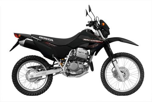 moto honda xr 250 blanco 2018