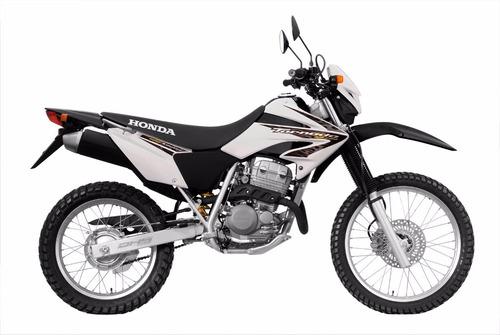 moto honda xr 250 tornado año 2016 color blanco