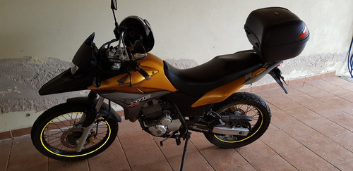 moto honda xre 300 ano 2010 dourada 23.800km revisada gas.