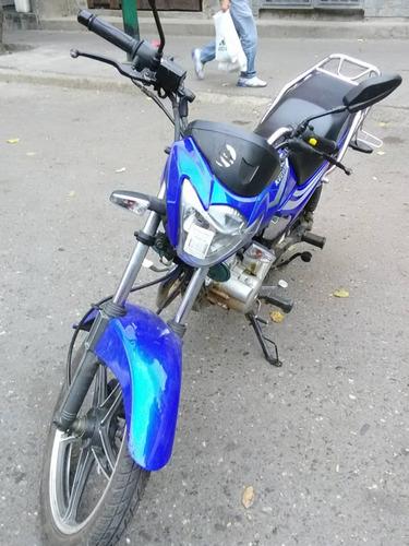 moto horse ii azul año 2014. unico dueño