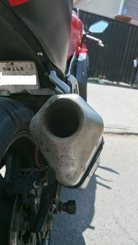 moto hyosung gt 650 mejorada