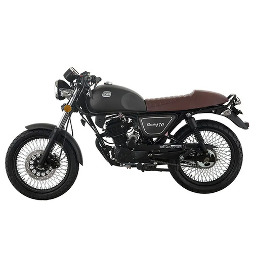 moto igm classic 170cc tipo cafe racer año 2019 ne/gr