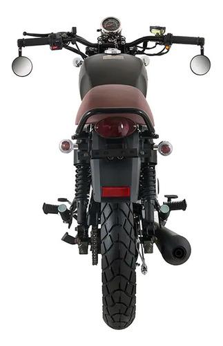 moto igm classic 170cc tipo cafe racer año 2019 negra