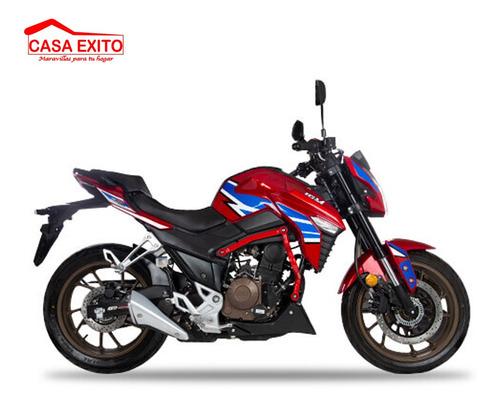 moto igm igm250kpr 250cc año 2019 color ne/ ro/ bl