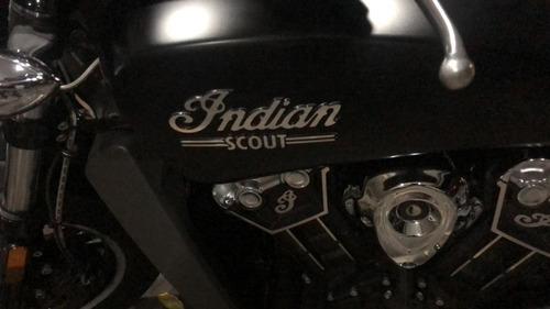 moto indian scout 2016 1200cc edicion black night especial
