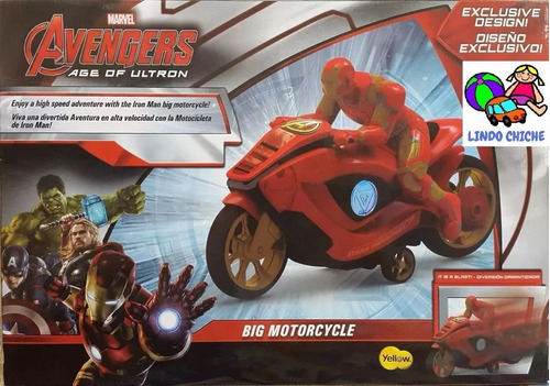 moto iron man 7118 a friccion