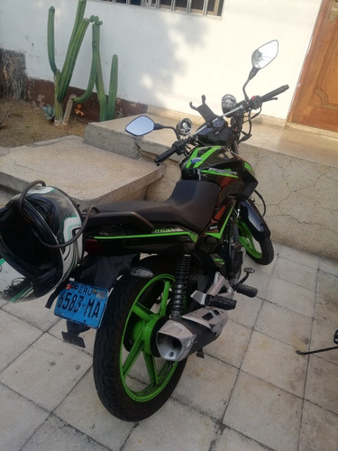 moto italika fiera 150 euro iii tuneada + soat y accesorios