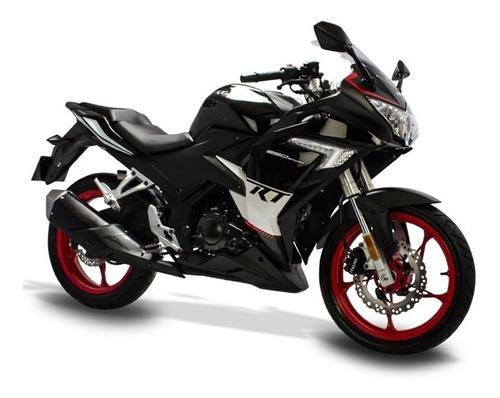 moto italika rt250 negro