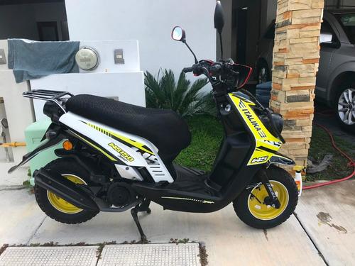 moto italika w150 negro/blanco/amarillo