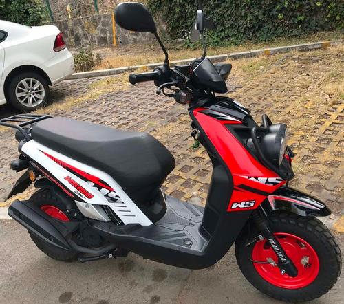 moto italika ws150 sport blanco con rojo, unico dueño