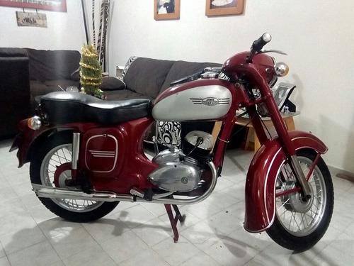 moto jawa 1956, para coleccionistas