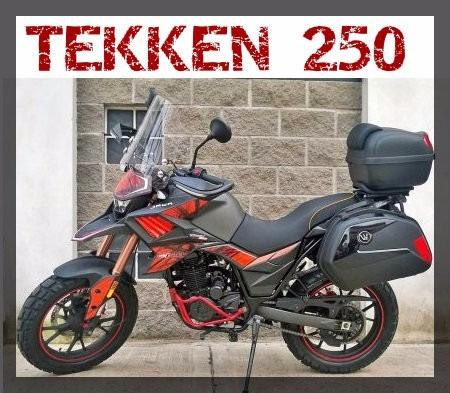 moto jawa tekken 250 0km 2018
